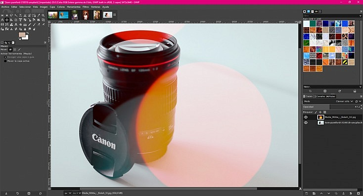 La Alternativa Gratuita a Photoshop 54