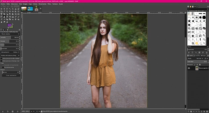 La Alternativa Gratuita a Photoshop 35