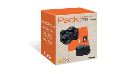 Canon Eos 80d Pack Fnac