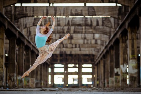 Ballet dance inside an old building: © Alejandro Cifuentes, Chile, Winner, National Awards, 2020 Sony World Photography Awards