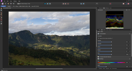 así se usa affinity photo editor de fotos