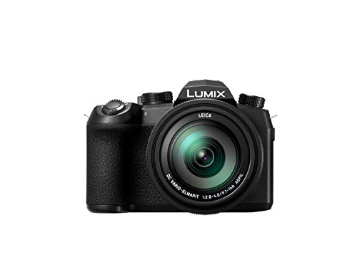 Panasonic Lumix DC-FZ1000 II - Cámara Bridge de 20.1 MP (Sensor 1 pulgadas, 12fps, Zoom de 16X, Objetivo F2.8-F4 de 25- 400 mm, 4K, WiFi, Bluetooth), Color Negro