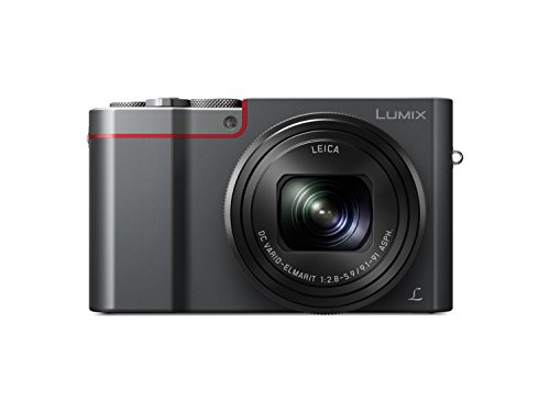 "Panasonic Lumix DMC-TZ100EG-K - Cámara Compacta Premium de 21.1 MP (Sensor de 1"", Objetivo F2.8-F5.9 de 25-250mm, Zoom de 10X, 4K, WiFi, Bluetooth, Raw), Color Plata"