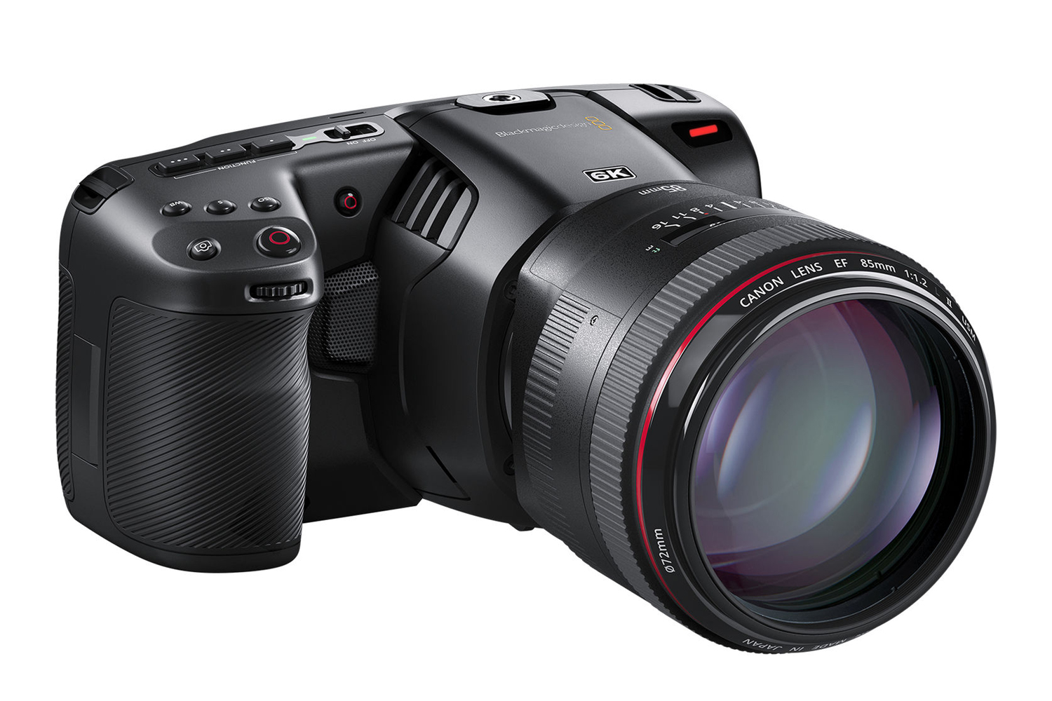 Blackmagic Pocket Cinema Camera 6K (cuerpo Solo)