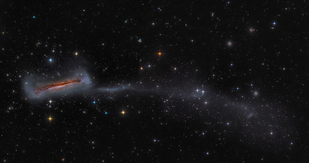 Runner Up Ngc 3628 With 300000 Light Year Long Tail A Mark Hanson