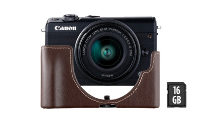 Canon Eos M100 Black Kit