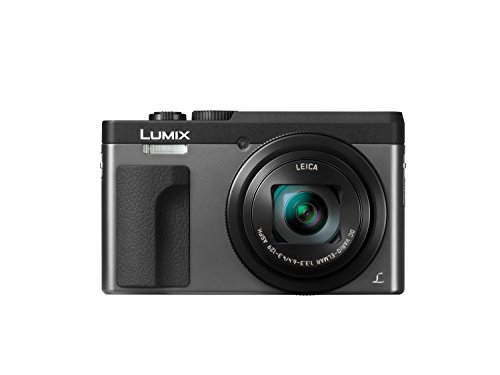 Panasonic Lumix DC-TZ90 - Cámara Compacta de 20,3 MP (Super Zoom, 10fps, Objetivo F3.3-F6.4 de 24-720mm, Zoom de 30X, Pantalla Abatible, 4K, Wifi, RAW), Color Plata