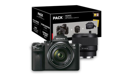 Sony A7 Ii Pack Con 50 Mm