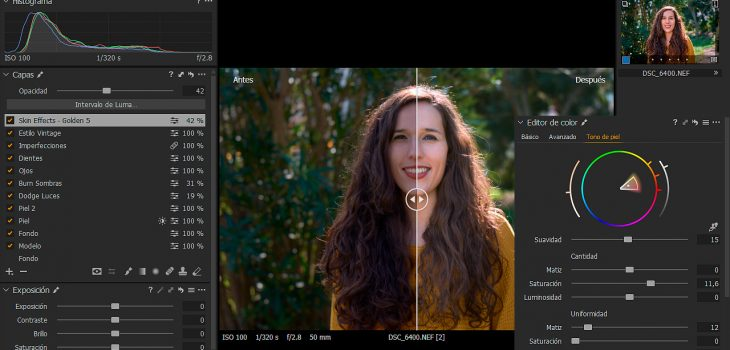 Conociendo Capture One Pro (IX): Revelado de Retratos