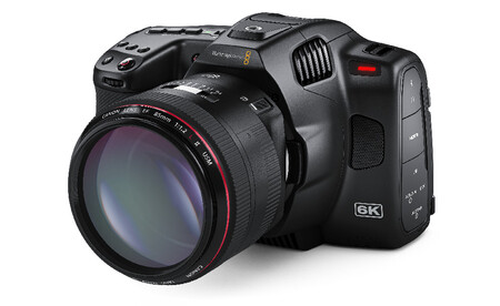Blackmagic Pocket Cinema Camera 6k Pro Angle